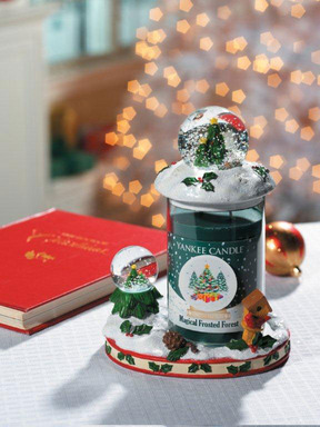 Yankee Candle's Magical Frosted Forest is one of three fragrances in the new limited edition Snow Globes collection.
