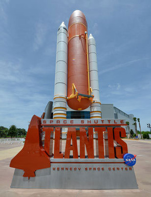 Space Shuttle Atlantis Entrance  (See Full Photo Captions)