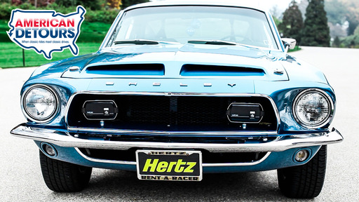 The Shelby Motor Company struck a deal with Hertz to produce a special line of GT350s for rent which were subsequently sold to the public after their rental-car lives were finished. These 'GT350H' cars are much sought-after today.