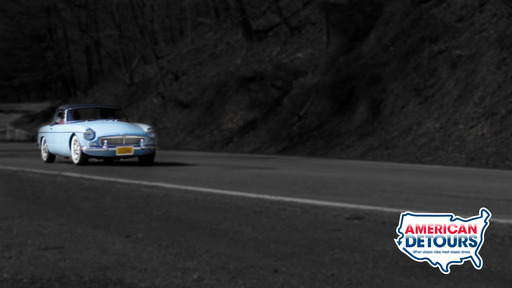 Shot on West Virginia's Highland Scenic Highway, American Detours Episode 5 hosts cruise around in a beautifully restored '65 MGB Roadster, hitting some amazing stops along the way.