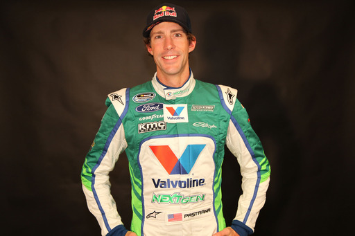 Roush Fenway Racing's newest driver, Travis Pastrana, asks fans to help Valvoline recycle stunts
