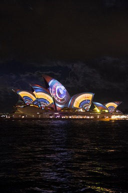 The fifth annual Vivid Sydney festival has opened with the lighting of the Sydney Opera House sails to unveil a stunning visual feast of colour, movement and world-class lighting artistry.