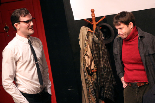 Dan Olsen and Jonathan Desley play Davis and Ted, in this hilarious scene of Someone To Belong To.