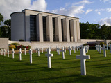 More than 8,900 individuals that died during World War II are buried or memorialized at Cambridge American Cemetery in England.