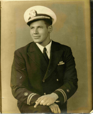 Merchant Marine Lt. Murray M. Blum died December  3, 1943 in the North Atlantic trying to save another man's life.