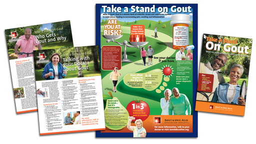 Visit the patient or medical professional portal of GoutEducation.org for new gout information kits!