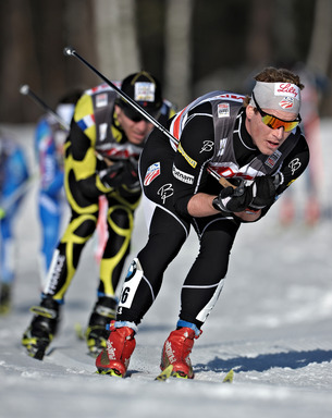 Kris Freeman Competes in Sweden March 2011
