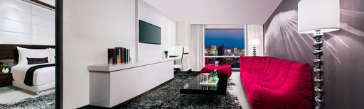 The newly renovated Ivory Tower Suite at Palms Casino Resort