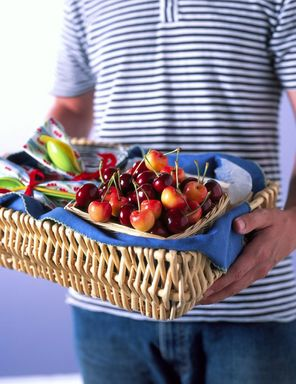 Basket of NW Cherries