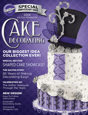 The 2014 Yearbook is our biggest collection ever! Wilton offers more than 250 ideas on how to top off any cake creation.