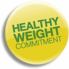 Healthy Weight Committment logo
