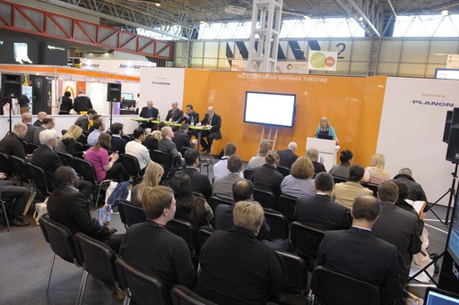 Panel session underway at Facilities Show 2013