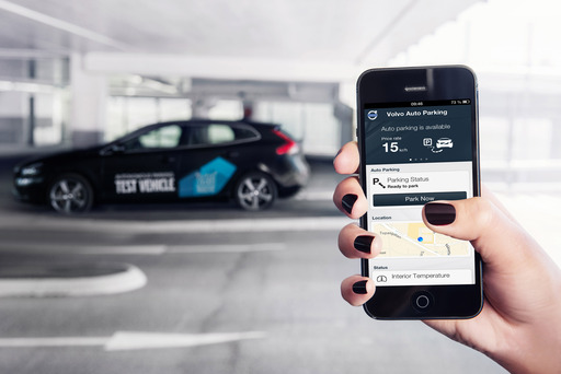 Volvo Car Group has developed a concept for autonomous parking. The concept can interact safely with other road users in the car park.