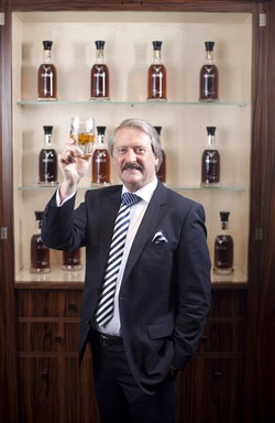 Richard Paterson and The Dalmore Paterson Collection Cabinet