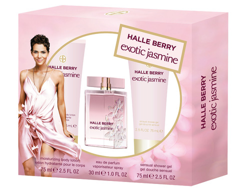 Exotic Jasmine by Halle Berry 3 Piece Gift Set