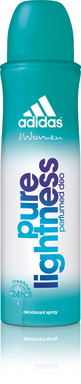 adidas for women Deodorant Body Fragrance in Pure Lightness