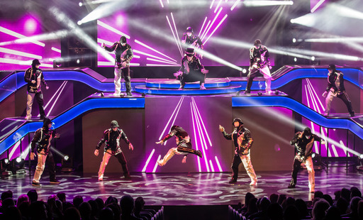 "Jabbawockeez full scale production ""PRiSM"" now open at Luxor in Las Vegas. Photo credit Erik Kabik."