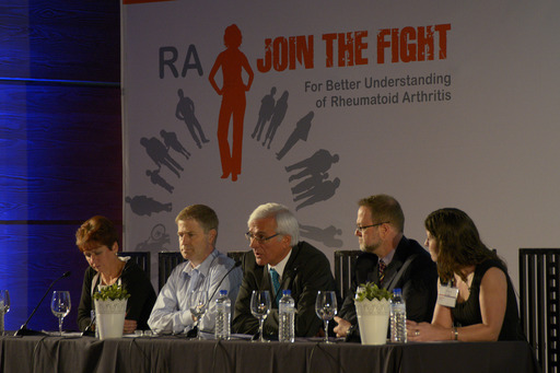 A panel of experts provided commentary on results from the largest global patient survey and discussed the impact of the findings during the RA: Join the Fight launch event on June 11 in Madrid