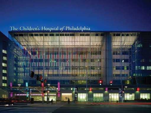 The Children's Hospital of Philadelphia was founded in 1855 as the nation's first pediatric hospital.