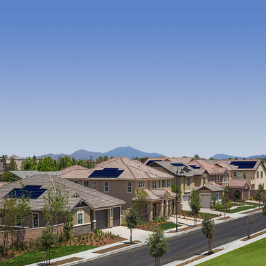 SunPower leads the industry with solar installed on 10,000 new production homes