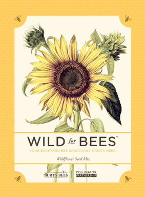 A Wild for Bees Seed Packet