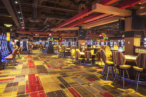 The gaming floor at Lady Luck Casino Nemacolin