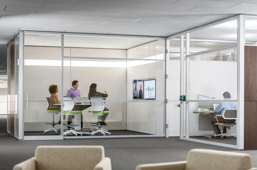 V.I.A moves easily, allowing organizations to quickly reconfigure space to accommodate change.
