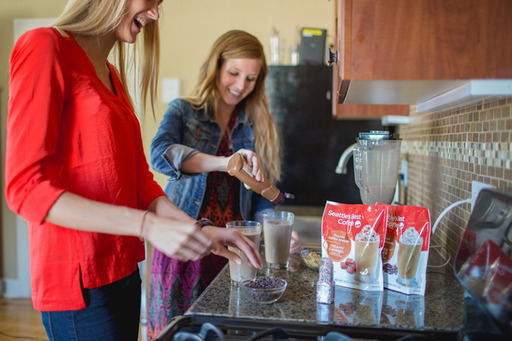 All you need to make your favorite frozen coffee drink at home is a bag of Seattle's Best Coffee® Frozen Coffee Blends, the milk of your choice and a blender. You can even customize with your own toppings. No previous barista experience required!