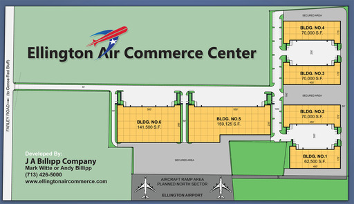 Ellington Air Commerce Site Plan
