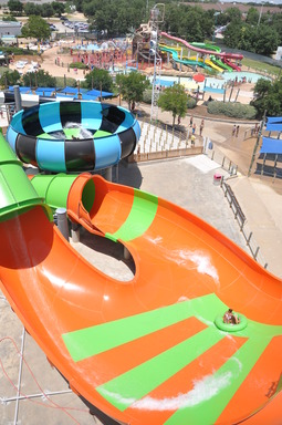 Get ready for mega water thrills on the new Typhoon Twister and Tsunami Surge at Six Flags Hurricane Harbor!