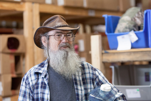 "Si Robertson says Clayton Homes are a ""good call"""