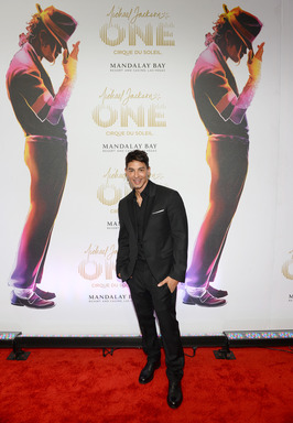 "Writer/Director of ""Michael Jackson ONE by Cirque du Soleil"" Jamie King arrives at the world premiere of the show at THEhotel at Mandalay Bay on June 29, 2013 in Las Vegas, Nevada. (Photo by Ethan Miller/Getty Images for Cirque du Soleil)"