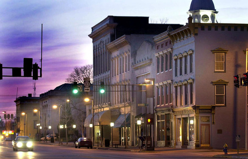 Danville, KY - Visit in May for the annual Lawn Chair Film Festival, September for Eat Drink Danville and Oktoberfest, or November for the Kentucky BBQ Festival and Hogs and Logs Team Triathlon.