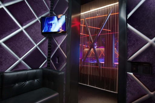 Private Cabana-style rooms in The Electric Fantasy Club at Scores Atlantic City