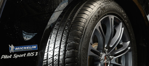 MICHELIN® Pilot® Sport A/S 3 Close Up on Vehicle