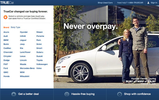 TrueCar's Home Page