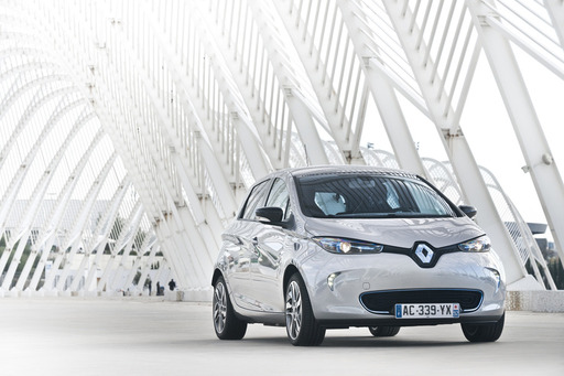 Renault ZOE – Renault's latest zero-emission vehicle