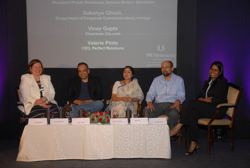 Meet the Experts panel (l-r) Lisa Ashworth, Vinay Gupta, Sukanya Ghosh, Nikhil Dey, Valerie Pinto