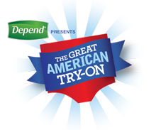 The Great American Try On logo