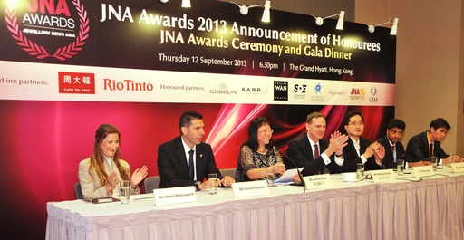 Awards organisers and Partners at a June 20 press conference  in Hong Kong