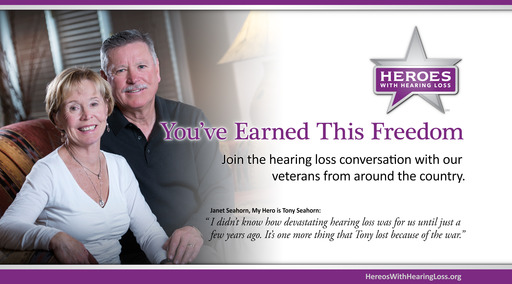 Heroes With Hearing Loss featured panelists Tony and Janet Seahorn, Ft. Collins, CO 2013