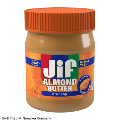 NEW Jif® Crunchy Almond Butter