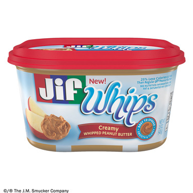 NEW Jif® Whipped Creamy Peanut Butter
