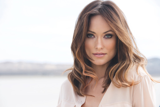 Actress and activist Olivia Wilde at the Avon Today ad shoot for the Today. Tomorrow. Always. fragrance collection