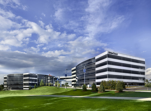 OpenText is Canada's largest software company, headquartered in Waterloo, Ontario, Canada