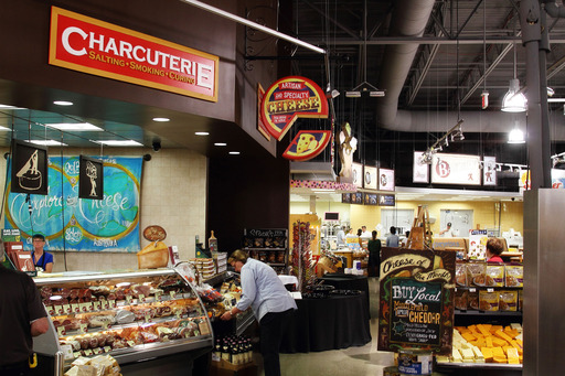 The charcurterie at the Solon Market District offers our very own in house roasted and imported cured meats from regions around the globe such as Italy and Spain.