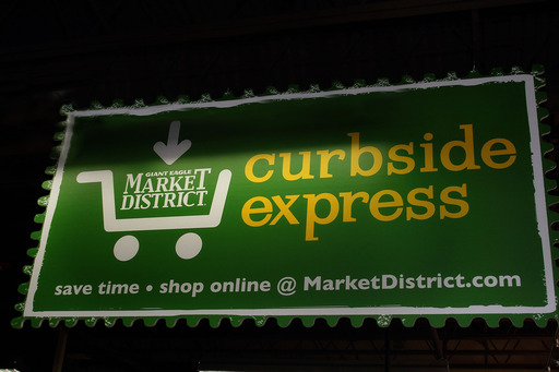 Solon Market District customers may also take advantage of the store's Curbside Express online grocery ordering service, allowing customers to pay for their order without leaving the comfort of their car.