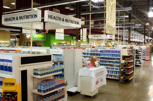The Solon Market District's expanded health, beauty and wellness department is filled with natural and organic cosmetics, vitamins, supplements and personal care products, and staffed with a licensed skin care professional and a licensed dietitian.