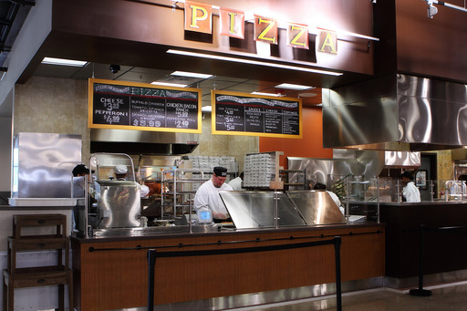 The new Pizza Shop at the Solon Market District offers gourmet, handmade pizza fresh out of the oven.