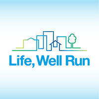 Life Well Run logo